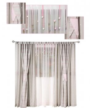 3 dekoh nger in verschiedenen farben f r ihre. Black Bedroom Furniture Sets. Home Design Ideas