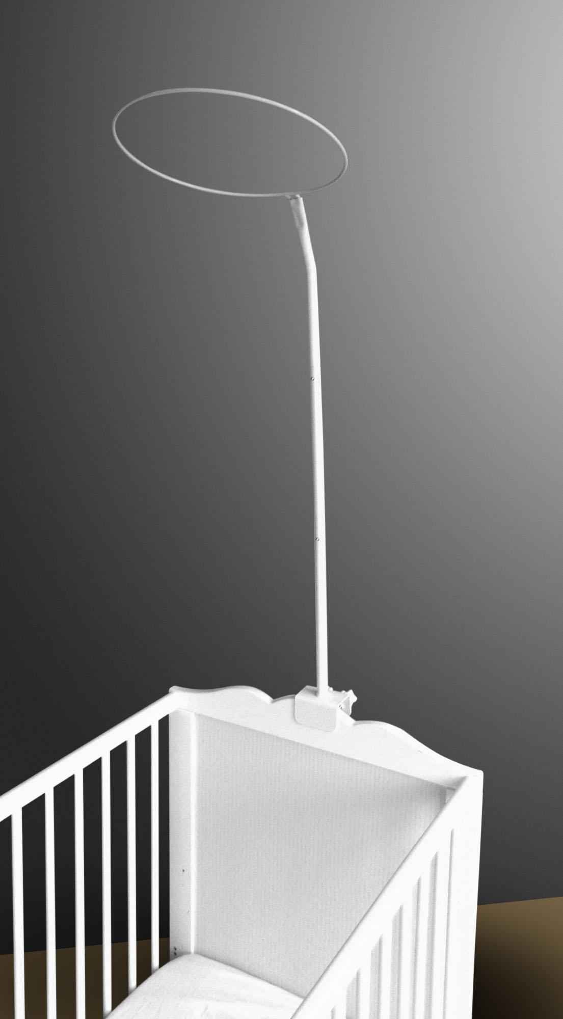 himmelstange zum anschrauben label f r wickeltaschen. Black Bedroom Furniture Sets. Home Design Ideas