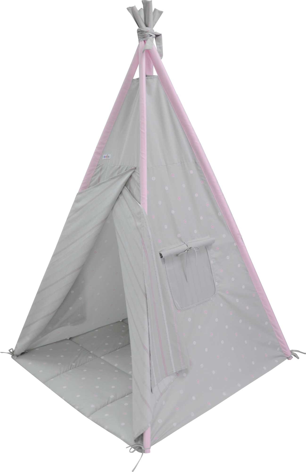 Belily Little Hideout Leopard Play Teepee / Play Tent  sc 1 st  Belily World & Belily World - play tent - Leopard play teepee