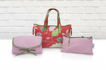 Wickeltasche Set Belily-World Florida Shopper Bag