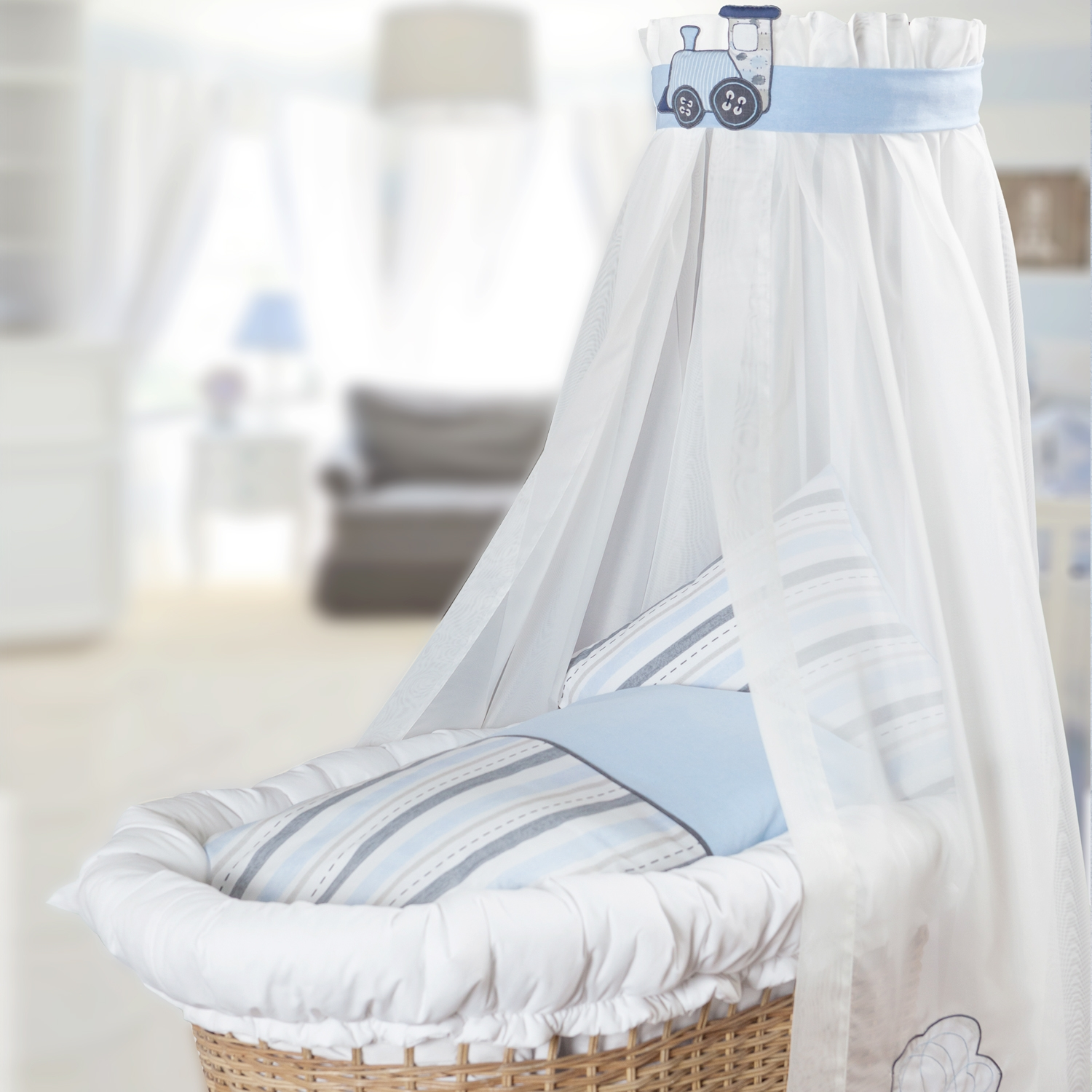 bassinet train - Bassinet Bedding