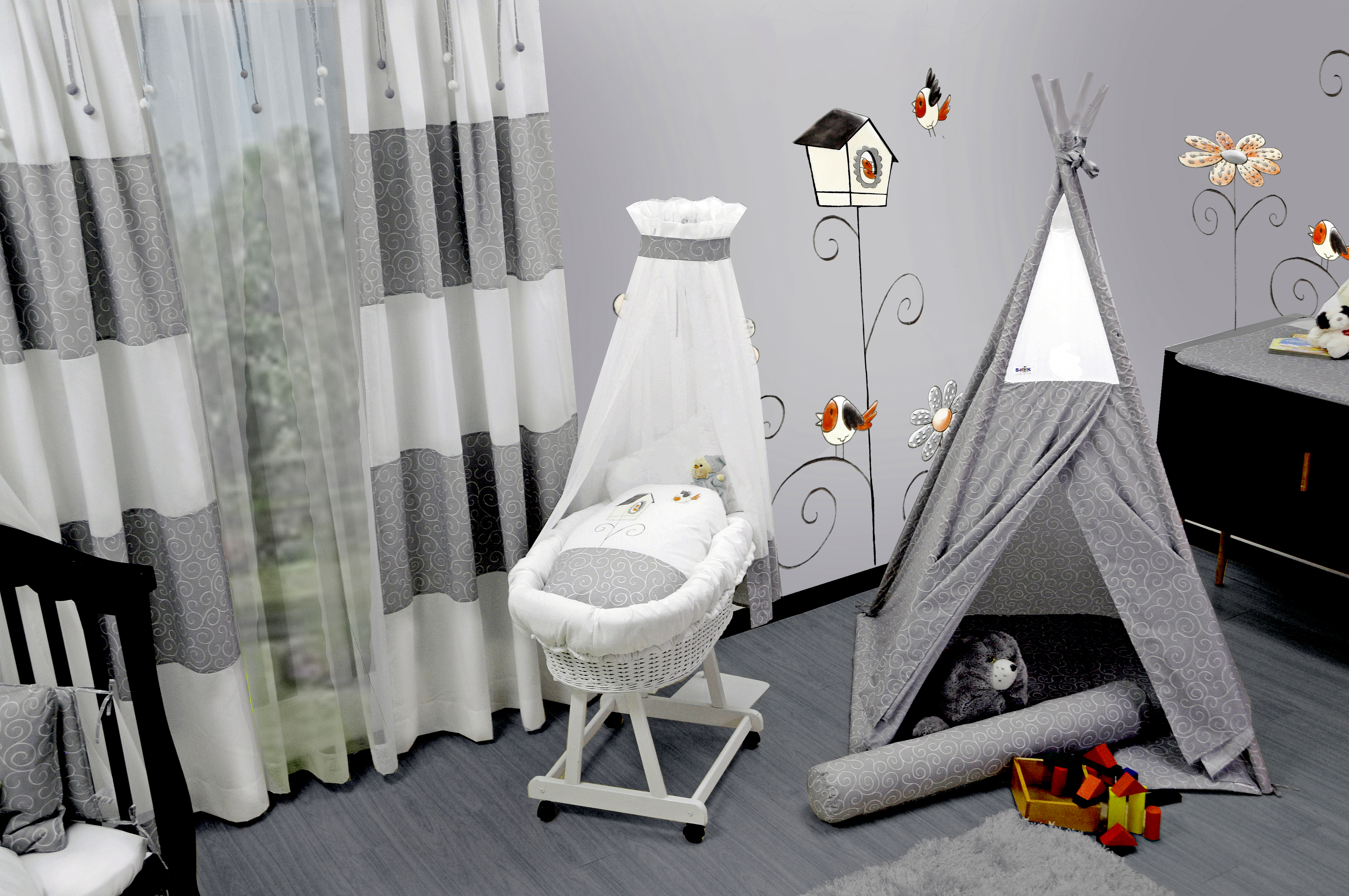 Vogelhaus design baby zimmer label für wickeltaschen