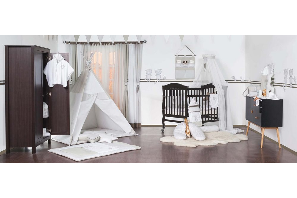 Kinder und babyzimmer teddy teds label für wickeltaschen